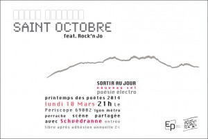 Saint Octobre PdP 2014