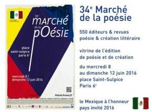 Marché de la Poésie Paris 2016